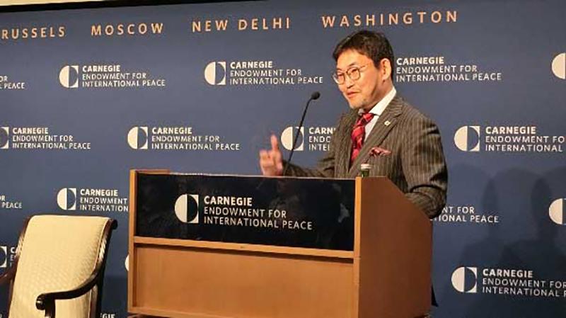 カーネギー国際平和基金「人工知能と日米同盟結合」に於ける筆者の基調講演@ワシントンD.C.(2017.1.)